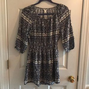 Forever 21 dress. Blue/white. Size small.